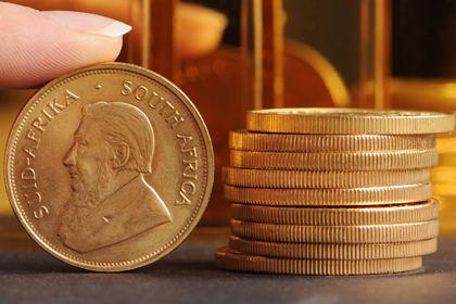 самая продаваемая золотая монета в мире - южноафриканский крюгерранд