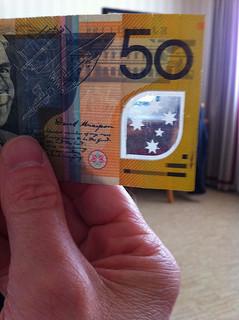 Пластиковые деньги Австралии