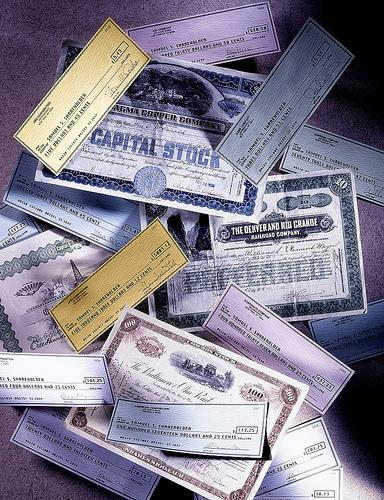 виды ценных бумаг